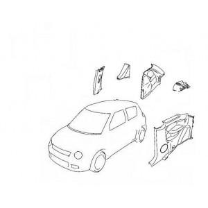 Garniture de coffre d'origine, pour tous modèles, toutes marques, tous véhicules.