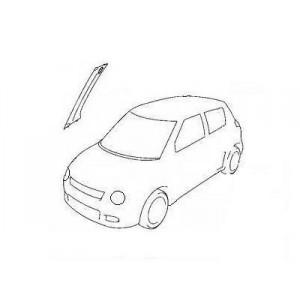 Garniture de montant de pare brise d'origine, pour tous modèles, toutes marques, tous véhicules.
